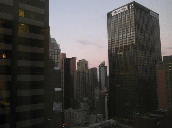 Sheraton New York Times Square Hotel: la vista dal 34mo piano