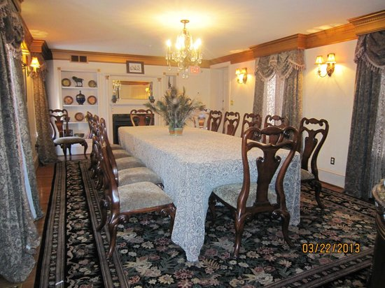 1840s Carrollton Inn: Private dining