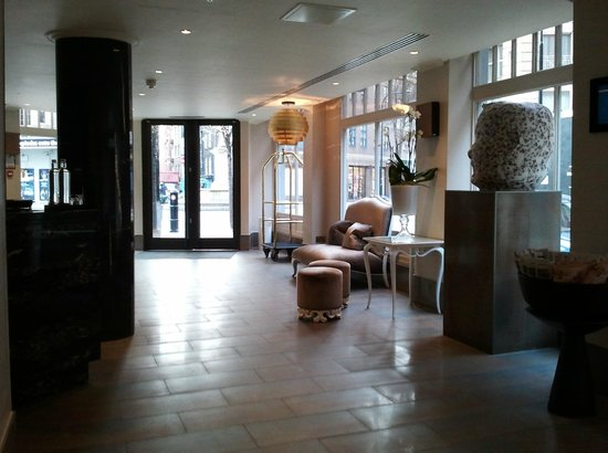 Radisson Blu Edwardian Mercer Street Hotel: recepcion