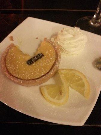 Coach and Horses: Lemon Tarte...excellent!