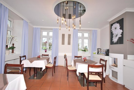 Villa Wunderschön: Der Frühstücksraum