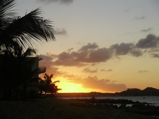 Residence Anse des Sables: Sunset