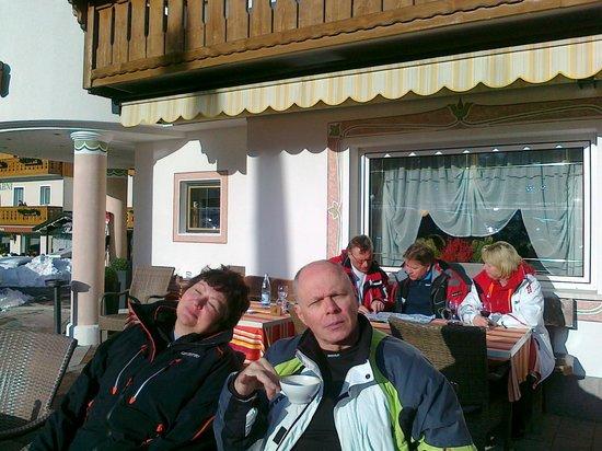 Hotel Malita: ... oder Aperol Spritz ...