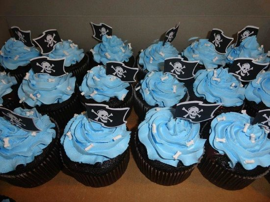 Sweet Dreams of Marco : Pirate Caupcakes