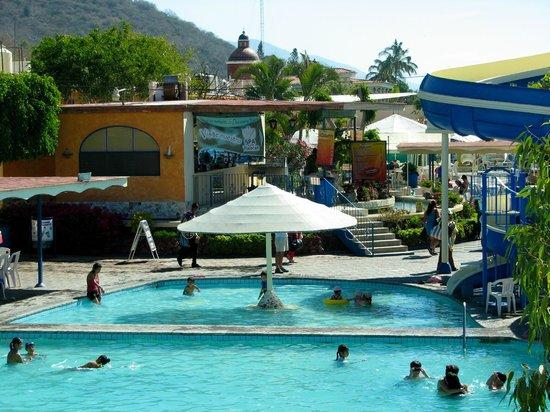 Hotel Balneario San Juan Cosala: Chapoteadero de Toboganes
