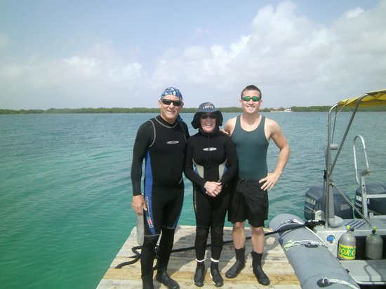 Bonaire East Coast Diving: Happy Divers!