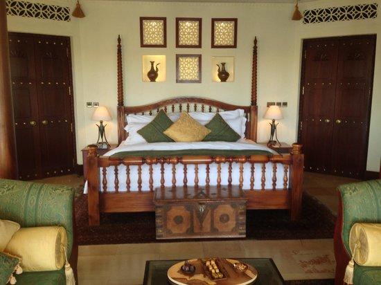 Al Maha, A Luxury Collection Desert Resort & Spa: The villa!