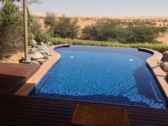 Al Maha, A Luxury Collection Desert Resort & Spa: From our villa!