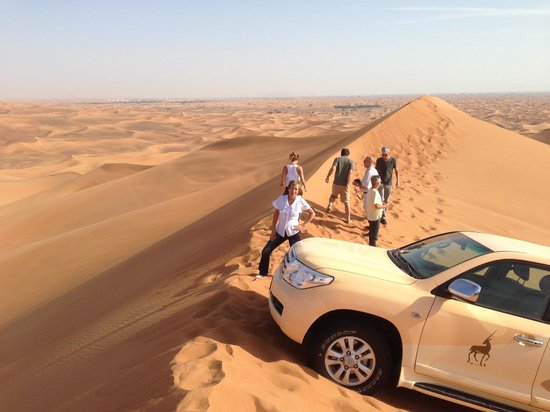 Al Maha, A Luxury Collection Desert Resort & Spa: Dunes drive!