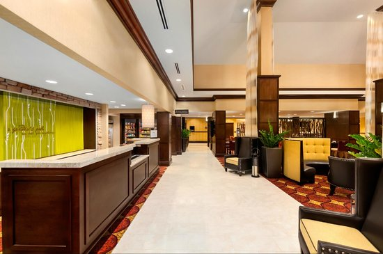 Check In And Lobby Picture Of Hilton Garden Inn