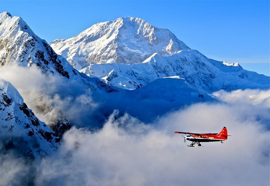 Talkeetna Air Taxi: They say 30% of visitors see McKinley.  We can improve those odds.