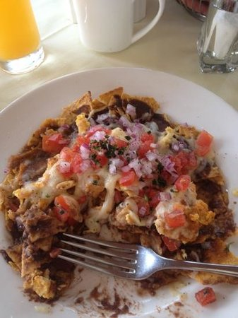 San Gregorio Hotel and Spa: Migas for breakfast was AWESOME
