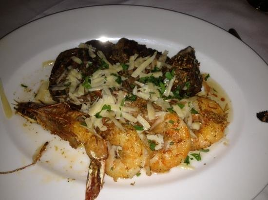 San Gregorio Hotel and Spa: shrimp and filet