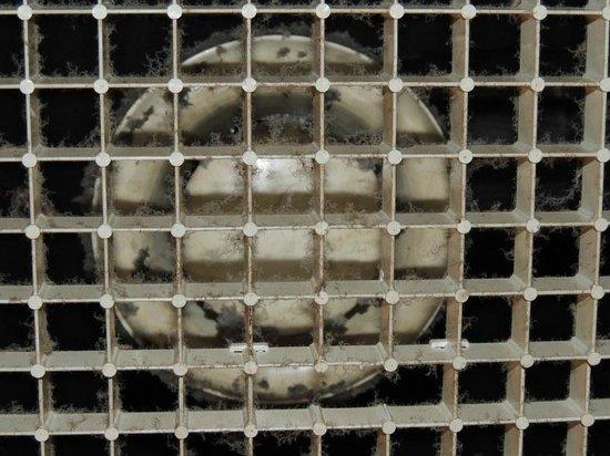 Hotel Garibaldi: Ventilation unit close up