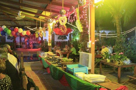 Souan Son Beach Resort & Restaurant: diner du soir
