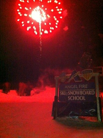 Angel Fire Resort: New Year's Fireworks