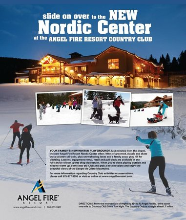 Angel Fire Resort: Nordic Skiing and Snowshoeing