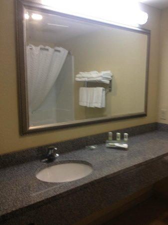 Country Inn & Suites By Carlson, Tallahassee Northwest I-10, FL: Bathroom