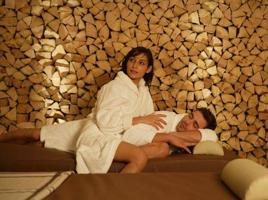 Hotel Cristallo: Zona Relax letti ad acqua - Centro Benessere