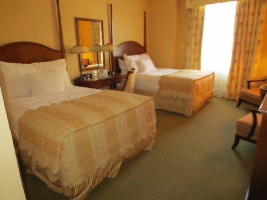 ذا بيبودي ممفيس: 2 Queen standard room