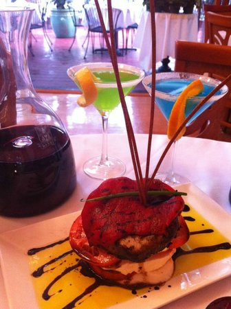 Crabtrees Restaurant: Mozz Napoleon