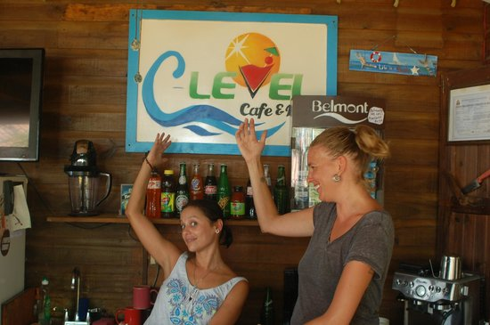C Level Cafe & Bar: \Our Awesome bartender(esses) Tasha n' Kara