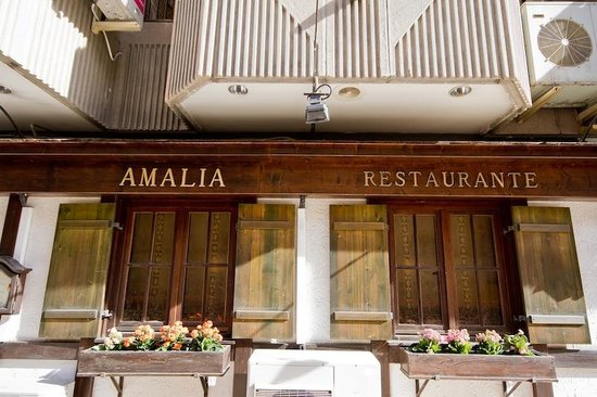 Restaurante Amalia: Fachada