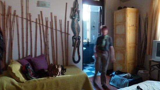 Chez Seb Buenos Aires: notre chambre