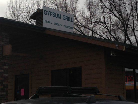 Gypsum Grill from the west