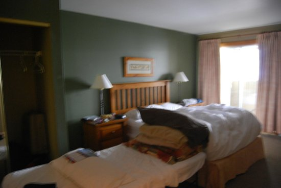 Twin Peaks Resort : Second Bedroom with cot