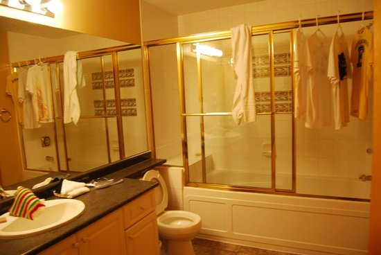 Twin Peaks Resort : Second Bedrooms Bathroom