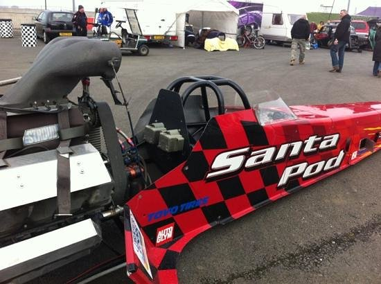 Santa Pod Raceway: Santa Pod Dragster
