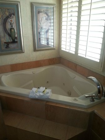 DoubleTree Suites by Hilton Doheny Beach - Dana Point: Jacuzzi tub--big enough for two :)