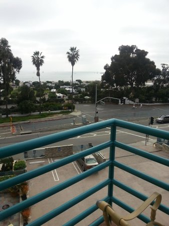 DoubleTree Suites by Hilton Doheny Beach - Dana Point: View from bedroom balcony