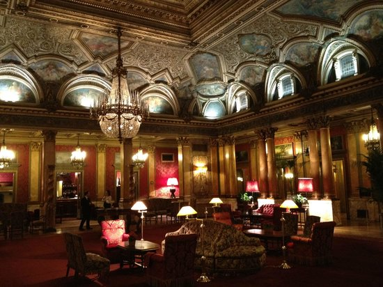 Grand Hotel Plaza: salone