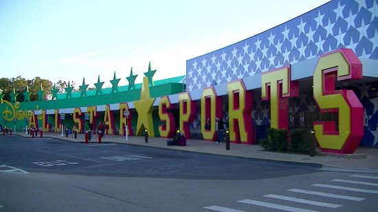 Disney's All-Star Sports Resort : Welcome home!