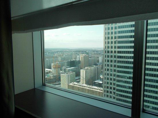 โรงแรมอินเตอร์คอนติเนนตัลวอร์ซอว์: Widok z 31 piętra