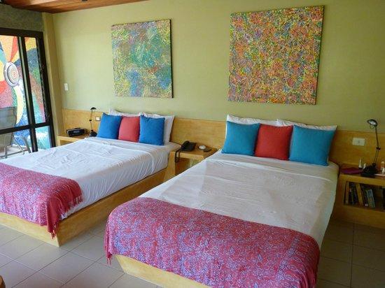 Alma del Pacifico Beach Hotel & Spa: Chambre