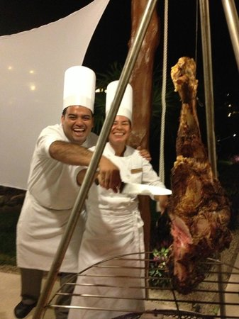 Secrets Maroma Beach Riviera Cancun: special BBQ night