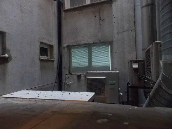 Hotel Da Vinci: Vistas al patio