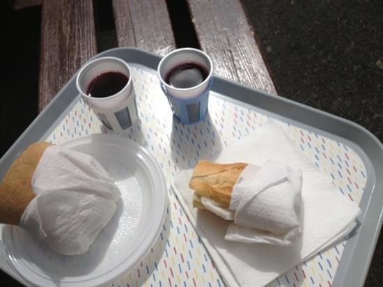La Marmifera: Ecco il pranzo!