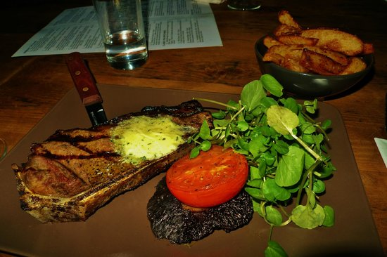 The Glasshouse: steak