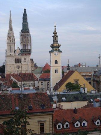 Upper Town (Gornji Grad): Desde una terraza