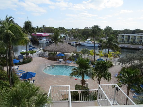 Courtyard by Marriott Key Largo: The Outdoor Pool