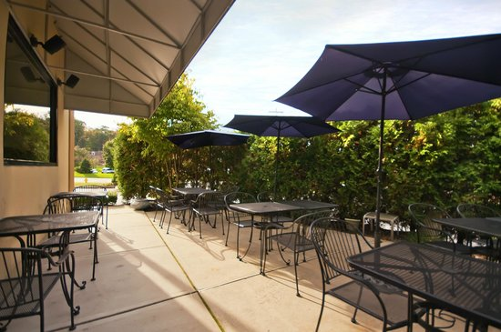The Olive Tree Greek Mediterranean Grill: Outdoor Patio