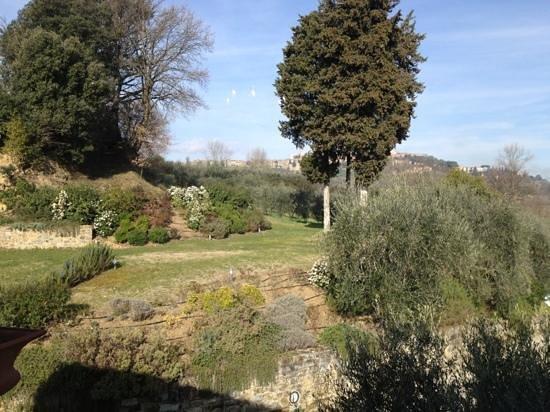 Agriturismo Guardastelle: vista su San Gimignano