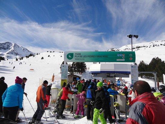 Deu Sol : Grau Roig - Typical Andorra - no queueing
