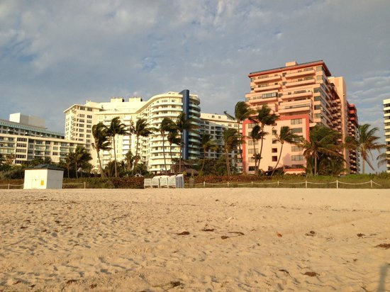 The Alexander All-Suite Oceanfront Resort: shot from the beach side