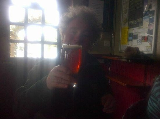 The Fox and Hounds: Nice pint of Nelsons'