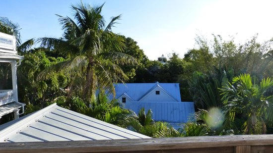 Key West Bed and Breakfast: rooftop view